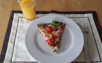 Pizza ohne Weissmehl