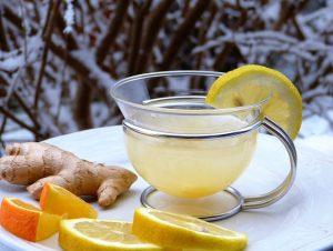 Zitrone-Ingwer