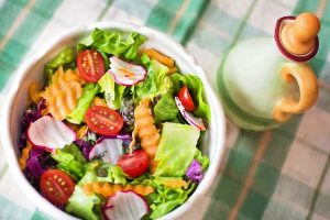 Abnehmen Salat