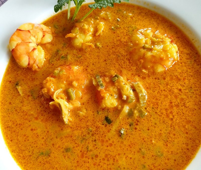 Kokos-King-Prawn-Suppe